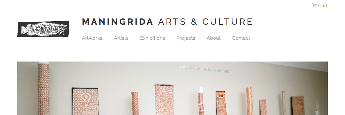 Maningrida Arts & Culture website